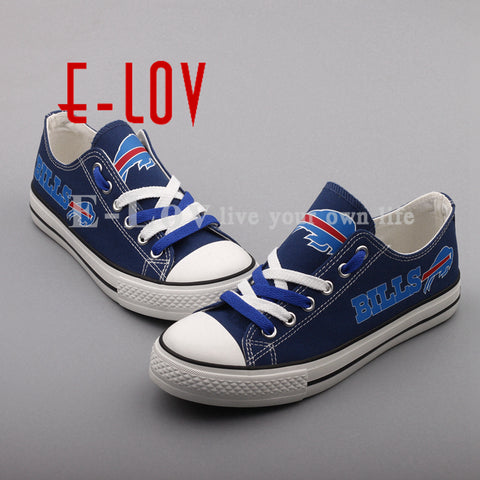 Buffalo Bills NFL Canvas Shoes,  [product_collection], DEFINITE Sporting Goods, [product_tags]- DEFINITE Sporting Goods