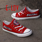 Atlanta Falcons NFL Casual Canvas Shoes,  [product_collection], DEFINITE Sporting Goods, [product_tags]- DEFINITE Sporting Goods