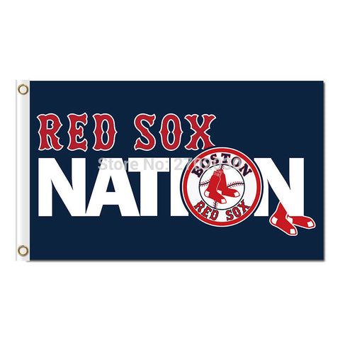Boston Red Sox Nation Flag 3X5 Feet MLB,  [product_collection], DEFINITE Sporting Goods, [product_tags]- DEFINITE Sporting Goods