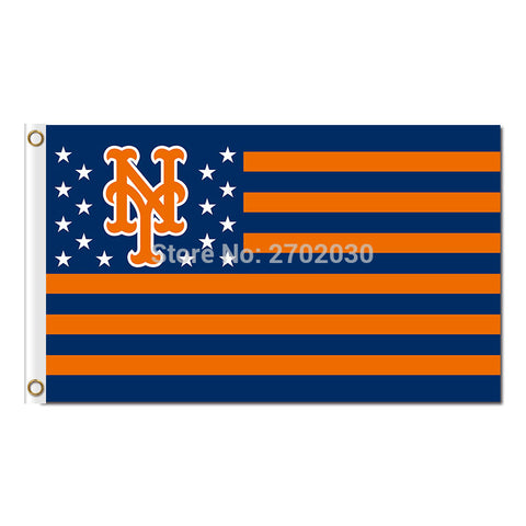 New York Mets USA Flag 3X5 Feet MLB,  [product_collection], DEFINITE Sporting Goods, [product_tags]- DEFINITE Sporting Goods