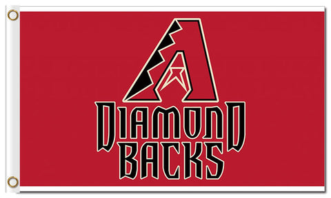 Arizona Diamondbacks Flag 3X5 Feet MLB,  [product_collection], DEFINITE Sporting Goods, [product_tags]- DEFINITE Sporting Goods