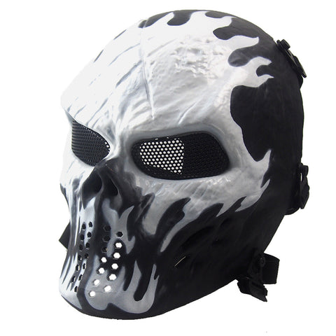 Airsoft  Full Face Skull Skeleton CS Mask,  [product_collection], DEFINITE Sporting Goods, [product_tags]- DEFINITE Sporting Goods