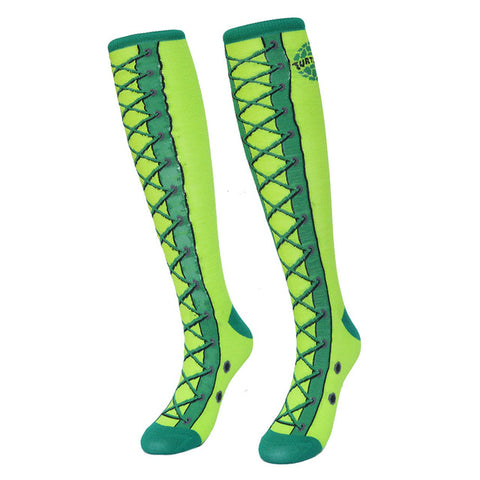 Ninja Turtles Women Socks Cotton Knee High - DEFINITE Sports