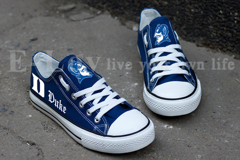 Duke University Blue Devil Women's Canvas Shoes,  [product_collection], DEFINITE Sporting Goods, [product_tags]- DEFINITE Sporting Goods