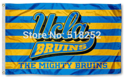 UCLA The Mighty Bruins Flag 3x5 FT,  [product_collection], DEFINITE Sporting Goods, [product_tags]- DEFINITE Sporting Goods