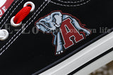 Alabama Crimson Tide College Canvas Shoes,  [product_collection], DEFINITE Sporting Goods, [product_tags]- DEFINITE Sporting Goods