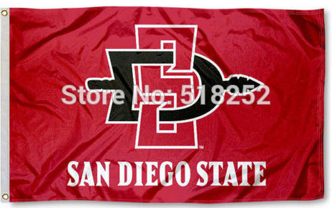 San Diego State Aztecs SDSU Flag 3x5FT,  [product_collection], DEFINITE Sporting Goods, [product_tags]- DEFINITE Sporting Goods