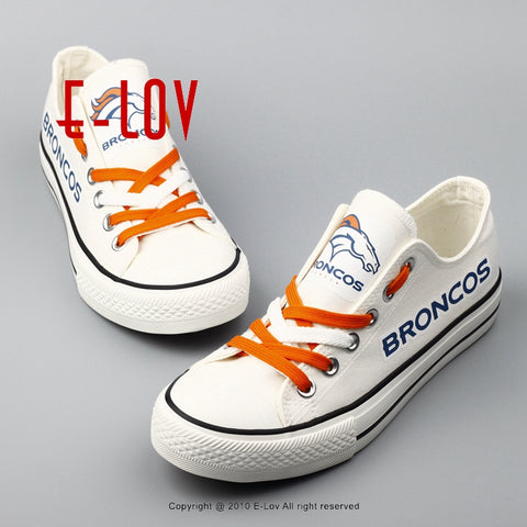Denver Broncos NFL Canvas Shoes,  [product_collection], DEFINITE Sporting Goods, [product_tags]- DEFINITE Sporting Goods