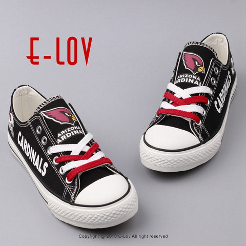 Arizona Cardinals NFL Canvas Shoes,  [product_collection], DEFINITE Sporting Goods, [product_tags]- DEFINITE Sporting Goods
