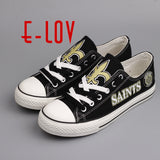 New Orleans Saints NFL Canvas Shoes,  [product_collection], DEFINITE Sporting Goods, [product_tags]- DEFINITE Sporting Goods