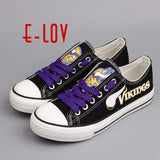 Minnesota Vikings NFL Canvas Shoes,  [product_collection], DEFINITE Sporting Goods, [product_tags]- DEFINITE Sporting Goods