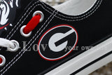 University of Georgia Women's Canvas Shoes,  [product_collection], DEFINITE Sporting Goods, [product_tags]- DEFINITE Sporting Goods