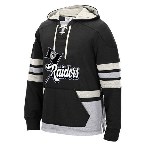 Oakland Raiders Heavy Hockey Hoodie,  [product_collection], DEFINITE Sporting Goods, [product_tags]- DEFINITE Sporting Goods