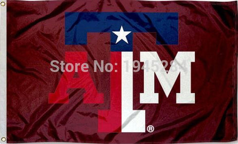 Texas A&M State Colors Flag New 3x5ft,  [product_collection], DEFINITE Sporting Goods, [product_tags]- DEFINITE Sporting Goods