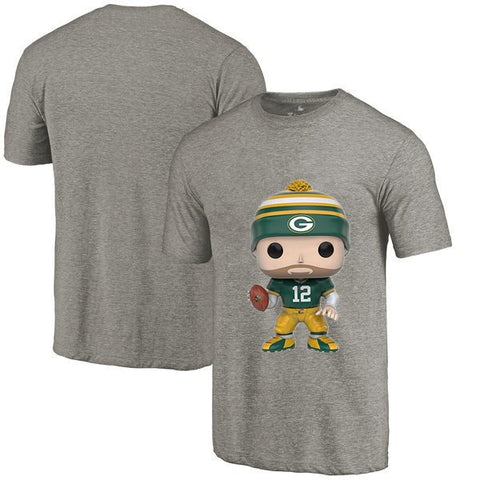 Green Bay 12 Aaron Rodgers Cartoon T Shirt,  [product_collection], DEFINITE Sporting Goods, [product_tags]- DEFINITE Sporting Goods