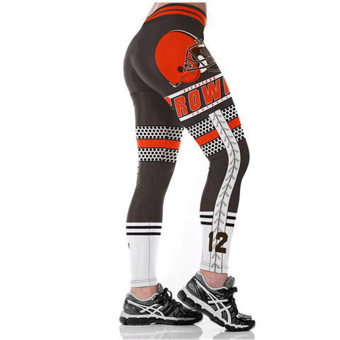 CLEVELAND BROWNS NFL LEGGINGS 2017,  [product_collection], DEFINITE Sporting Goods, [product_tags]- DEFINITE Sporting Goods