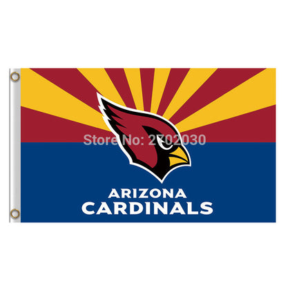 Arizona Cardinals State Flag 3x5ft,  [product_collection], DEFINITE Sporting Goods, [product_tags]- DEFINITE Sporting Goods