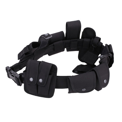Tactical Hunting Utility Kit Belt with Pouches,  [product_collection], DEFINITE Sporting Goods, [product_tags]- DEFINITE Sporting Goods