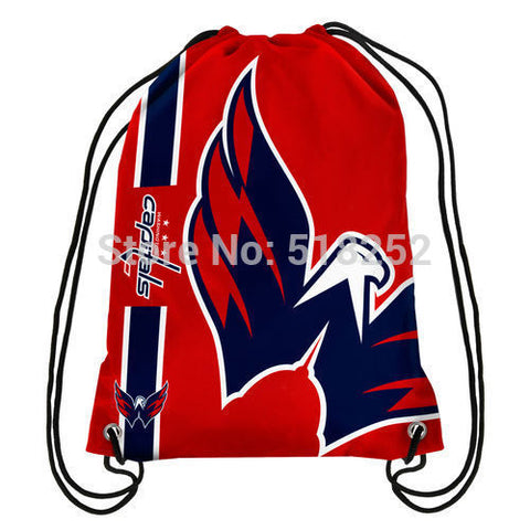 Washington Capitals Drawstring Backpack,  [product_collection], DEFINITE Sporting Goods, [product_tags]- DEFINITE Sporting Goods