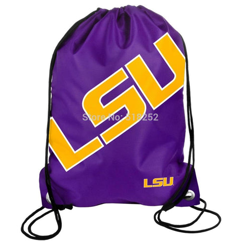 LSU Tigers Drawstring Backpack,  [product_collection], DEFINITE Sporting Goods, [product_tags]- DEFINITE Sporting Goods