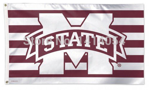 NCAA Mississippi State University STRIPES 3x5-Feet,  [product_collection], DEFINITE Sporting Goods, [product_tags]- DEFINITE Sporting Goods