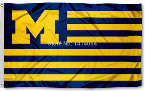 Michigan Wolverines University USA NCAA 3X5FT,  [product_collection], DEFINITE Sporting Goods, [product_tags]- DEFINITE Sporting Goods
