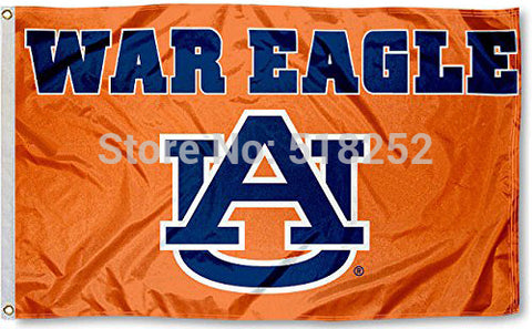 AUBURN WAR EAGLE  Flag 3x5 FT,  [product_collection], DEFINITE Sporting Goods, [product_tags]- DEFINITE Sporting Goods