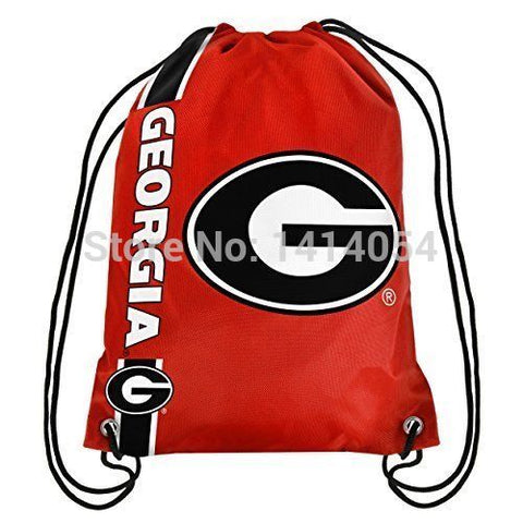 Georgia Bulldogs Drawstring Backpack,  [product_collection], DEFINITE Sporting Goods, [product_tags]- DEFINITE Sporting Goods