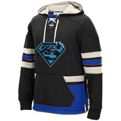 Carolina Panthers Heavy Hockey Hoodie,  [product_collection], DEFINITE Sporting Goods, [product_tags]- DEFINITE Sporting Goods