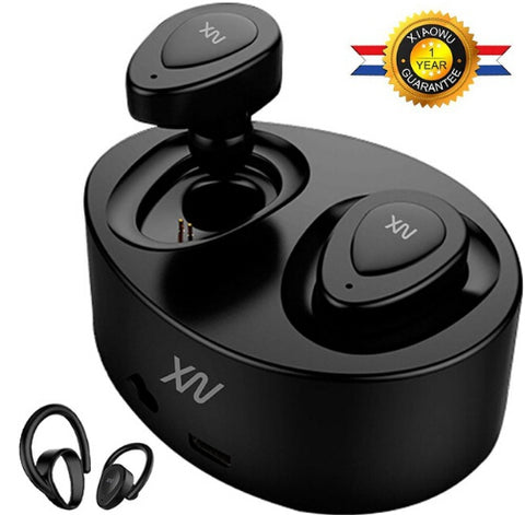 XV k5 Wireless Bluetooth Headset Built-In Mic and Charging Box,  [product_collection], DEFINITE Sporting Goods, [product_tags]- DEFINITE Sporting Goods