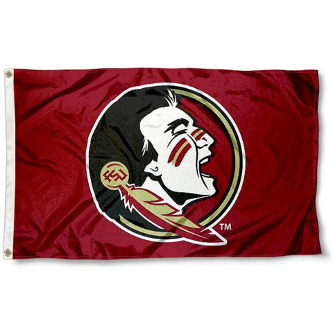 FSU Seminoles New Logo Flag NCAA 3x5 FT,  [product_collection], DEFINITE Sporting Goods, [product_tags]- DEFINITE Sporting Goods