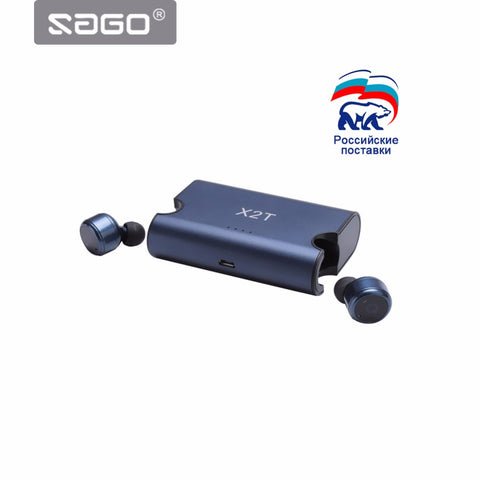 In-Ear Portable True Wireless Earbuds TWS X2T Mini Bluetooth 4.2 Earphone,  [product_collection], DEFINITE Sporting Goods, [product_tags]- DEFINITE Sporting Goods