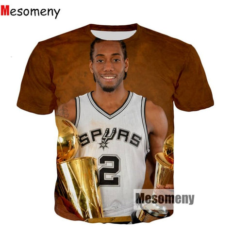 Spurs Kawhi Leonard 3-D Printed #3,  [product_collection], DEFINITE Sporting Goods, [product_tags]- DEFINITE Sporting Goods