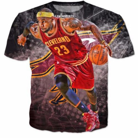 Lebron James Printed Tee,  [product_collection], DEFINITE Sporting Goods, [product_tags]- DEFINITE Sporting Goods