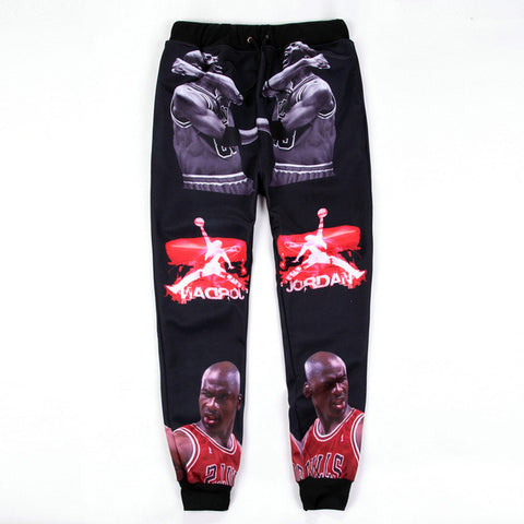 Michael Jordan Printed Sweatpants,  [product_collection], DEFINITE Sporting Goods, [product_tags]- DEFINITE Sporting Goods
