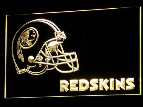Washington Redskins Helmet LED Neon Sign with 20+ Colors 5 Sizes to choose,  [product_collection], DEFINITE Sporting Goods, [product_tags]- DEFINITE Sporting Goods