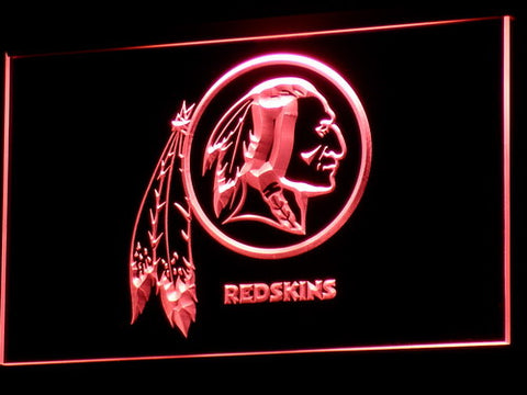 Washington Redskins LED Neon Sign with 20+ Colors 5 Sizes to choose,  [product_collection], DEFINITE Sporting Goods, [product_tags]- DEFINITE Sporting Goods