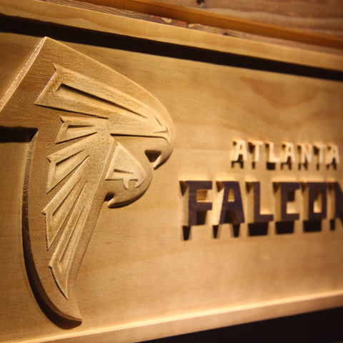 Atlanta Falcons 3D Wooden Sign,  [product_collection], DEFINITE Sporting Goods, [product_tags]- DEFINITE Sporting Goods