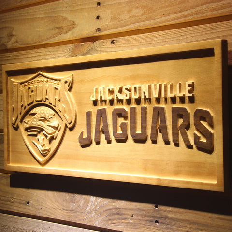 Jacksonville Jaguars 3D Wooden Sign,  [product_collection], DEFINITE Sporting Goods, [product_tags]- DEFINITE Sporting Goods