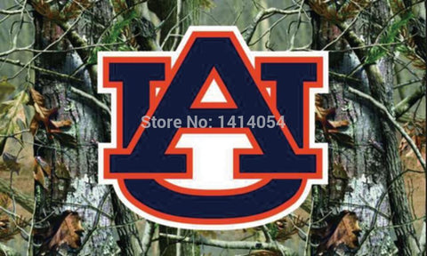 Auburn Tigers Camo Flag NCAA 3X5FT,  [product_collection], DEFINITE Sporting Goods, [product_tags]- DEFINITE Sporting Goods