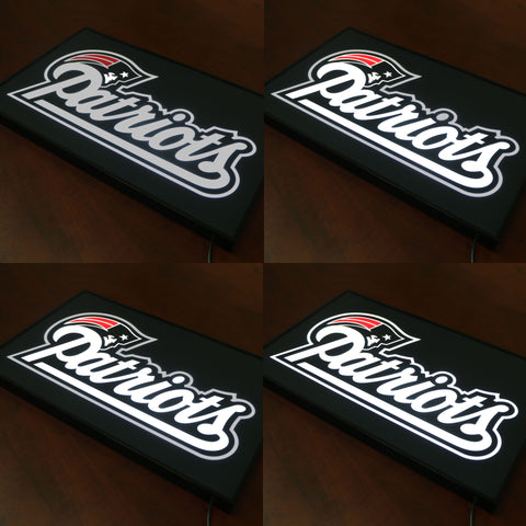 New England Patriots Bar Sign Animation Effect LED Dynamic Light Box,  [product_collection], DEFINITE Sporting Goods, [product_tags]- DEFINITE Sporting Goods