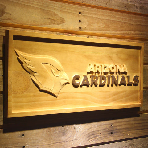 Arizona Cardinals 3D Wooden Sign,  [product_collection], DEFINITE Sporting Goods, [product_tags]- DEFINITE Sporting Goods