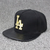 Metal Diamond Letter LA Dodgers Snapback,  [product_collection], DEFINITE Sporting Goods, [product_tags]- DEFINITE Sporting Goods
