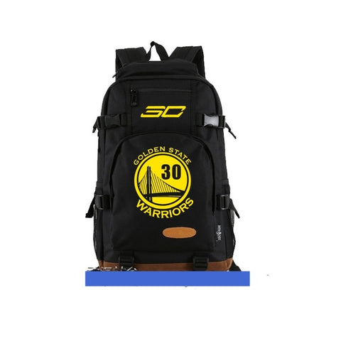 Steph Curry 30 Golden State Warriors Logo GSW Nba Back Pack,  [product_collection], DEFINITE Sporting Goods, [product_tags]- DEFINITE Sporting Goods