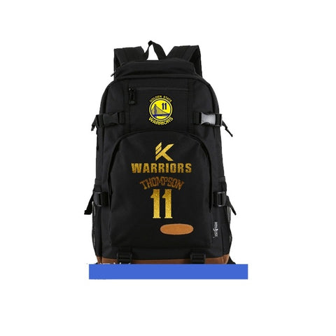 Klay Thompson 11 GSW Logo Nba Back Pack,  [product_collection], DEFINITE Sporting Goods, [product_tags]- DEFINITE Sporting Goods