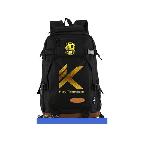 Klay Thompson LOGO GSW Nba Back Pack,  [product_collection], DEFINITE Sporting Goods, [product_tags]- DEFINITE Sporting Goods