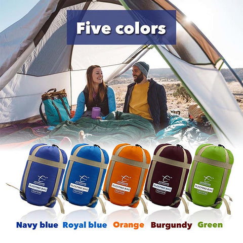 Waterproof Outdoor Envelope Sleeping Bag,  [product_collection], DEFINITE Sporting Goods, [product_tags]- DEFINITE Sporting Goods