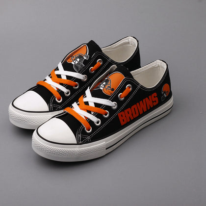 Cleveland Browns NFL Canvas Shoes,  [product_collection], DEFINITE Sporting Goods, [product_tags]- DEFINITE Sporting Goods