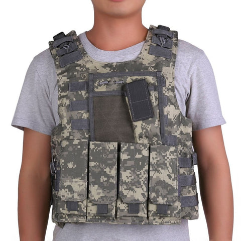 Tactical Military Combat Vest Adjustable Strap,  [product_collection], DEFINITE Sporting Goods, [product_tags]- DEFINITE Sporting Goods