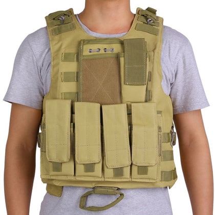 Tactical Military Vests Assault Plate Carrier,  [product_collection], DEFINITE Sporting Goods, [product_tags]- DEFINITE Sporting Goods